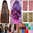 New Long Thick 5 Clip Half Full Head Real as Human Clip in Hair Extensions ifo20
