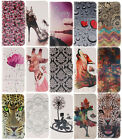 Premium Vintage Flip Stand Leather Wallet Case For iPhone Series 15 Patterns New