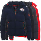 Geographical Norway Veron Herren Winterjacke Steppjacke Jacke
