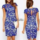 Summer Sexy Womens Bandage Bodycon Lace Evening Party Cocktail Short Mini Dress