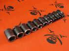Snap-On Tools IMM (10-19mm) 1/2 Drive Shallow Impact Sockets - PICK SIZE
