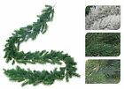 6ft/180cm Luxury Christmas Garlands Christmas Decorations Mantel Fireplace Door