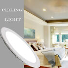 LED Recessed Ceiling Panel 6w/9w/12w/15w/18w/20w Round Square LED Down Lights