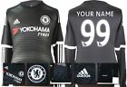 *15 / 16 - ADIDAS ; CHELSEA 3rd KIT SHIRT LS / PERSONALISED = SIZE*