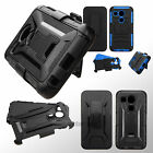 Hybrid Holster Case Hard Protective Heavy Duty Shockproof Cover For LG Nexus 5X