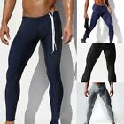 Jeansian Mens Fitness Running Sweatpants Tight Trousers 3 Colors 3 Sizes MUA001
