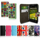 VARIOUS PU LEATHER MAGNETIC FLIP WALLET CASE COVER FOR EE PHONES + STYLUS