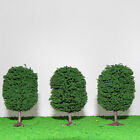 S0502  Ball-shaped Trees Model Train Wargame Diorama Architecture Scenery NEW