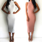 Sexy Women Sleeves Winter Turtleneck Bandage Bodycon Club Party Dress New