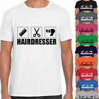 grabmybits - Hairdresser Design Adult Unisex T Shirt - Gift Stylist Hair Cut Tee