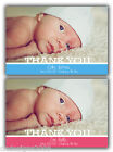 Personalised Baby Girl or Boy Birth Announcement Thank You Cards