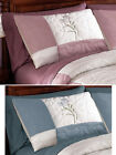 Collections Etc Embroidered Floral Quilted Patricia Pillow Sham