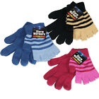 2 GIRLS UNISEX MAGIC GLOVES SOFT THERMAL FINGERLESS WINTER WARM OUTDOOR LUXURY