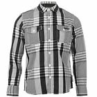 Lee Cooper Kids Junior Boys Long Sleeve Check Shirt Casual Everyday Top