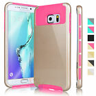 PC Shockproof Hard Matte Protective Cover Case For Samsung Galaxy S6 Edge Plus +