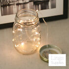 3/15 Sets 20LED String Fairy Lights w/Battery Warm White Wedding Mason Jar Decor