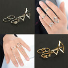 5 Pcs/Sets Women's Mini Gold Silver Plated Above Knuckle Ring Gift Hot Style
