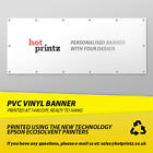PVC VINYL BANNERS INDOOR OUTDOOR SIGN PERSONALISED ADVERTISING BANNER