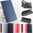 Magnetic Flip Leather Wallet Card Slot Holder Case Cover w/Stand For DOOGEE F5