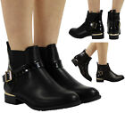 WOMENS LADIES CHELSEA BOOTIES CROC LOW CUBAN HEEL ANKLE CASUAL BOOTS SHOES SIZE