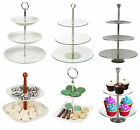 2 & 3 Layer Tier Food Cake Display Stand Serving Table Platter Rack Wedding Xmas