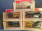 5x 'DAYS GONE' HORSE DRAWN BUSES & TRAM - 5 DIFFERENT ISSUES AS PHOTO
