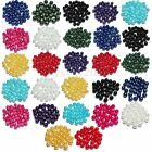 Czech Glass Pearl Round Loose Beads Spacer Charms 4MM 6MM 8MM DIY Jewelry Making