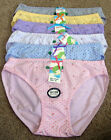 Underwear LOT 1 3 6 12 Polka Dot COTTON Spandex Girl Kid Bikini Panty SMLXL