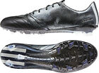 Adidas F50 Leather Firm Ground Mens Football Boots - Black