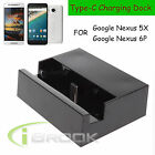 USB 3.1 Type C Charger Charging Dock Cradle Station For Google Nexus 5X 6P New