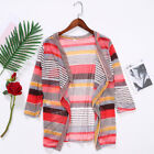 Boho Womens Cardigan Loose Sweater Outwear Knitted Long Sleeve Jacket Coat Tops