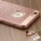NEW Luxury Diamond Bling Rubber Bumper Case Hard Back Cover For iPhone 6S