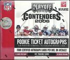 2006 Playoff Contenders Factory Sealed Football Hobby Box   Jay Cutler RC ???