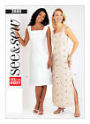 Butterick 3880 OOP Sewing Pattern to MAKE Very Easy Pullover Dresses - See & Sew