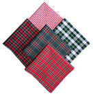 Men's Tartan or gingham handkerchief hanky hankie pocket square - handmade in UK