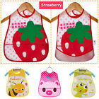 New Cartoon Kids Turn Translucent Plastic Bibs Child EVA Soft Waterproof Bibs