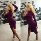 Sexy Womens Party Bodycon Dress Ladies Evening Cocktail Pencil Dress T1210i