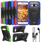 Headphone For Samsung Core Prime S820L LTE Case Cover stand Earphone Headset