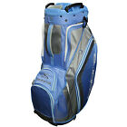 COBRA GOLF DAMEN WOMEN'S FLY-Z CART BAG ULTRAMARINE-GRAY E-TROLLEY KOMPATIBEL