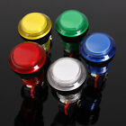 "5V/12V 1"" Round Lit Illuminated Arcade Video Game Push Button Switch LED Light"