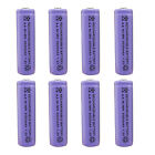 8 pcs AA 3000mAh Ni-MH 1.2V Rechargeable Battery Purple For Toy RC Solar Light