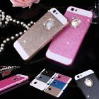 Luxury Bling Glitter Crystal Back Case Cover for Apple iPhone 5 5S 6 6s Plus NEW