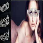 1Pc Party Festival Costume Crystal Masquerade Ball Rhinestone Mask For Women