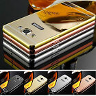 Luxury Ultra-Silm Aluminum Mirror Metal Case Cover for Samsung Galaxy Phone