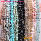 """Wholesale 5-8mm Freeform Gemstone Chips Beads For Jewelery Making 34""""/15"""""""