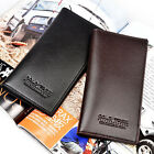 New Fashion Men Leather Credit Cards Holder Purse Long Wallet Checkbook Billfold