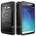 For Samsung Galaxy CORE Prime G360 - FULL BLACK ARMOR IMPACT DEFENDER PHONE CASE