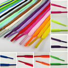 Hot 2PCS New Oval Athletic Shoelaces Sport Sneaker Boots Shoe Laces Strings 2016
