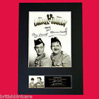 LAUREL & HARDY #2 Quality Signed Mounted Autograph Photo Print (A4) No593
