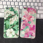 1XFor Apple iPhone 5s 6s 6s plus Hand-drawn Floral Flower Cell Phone Case Cover